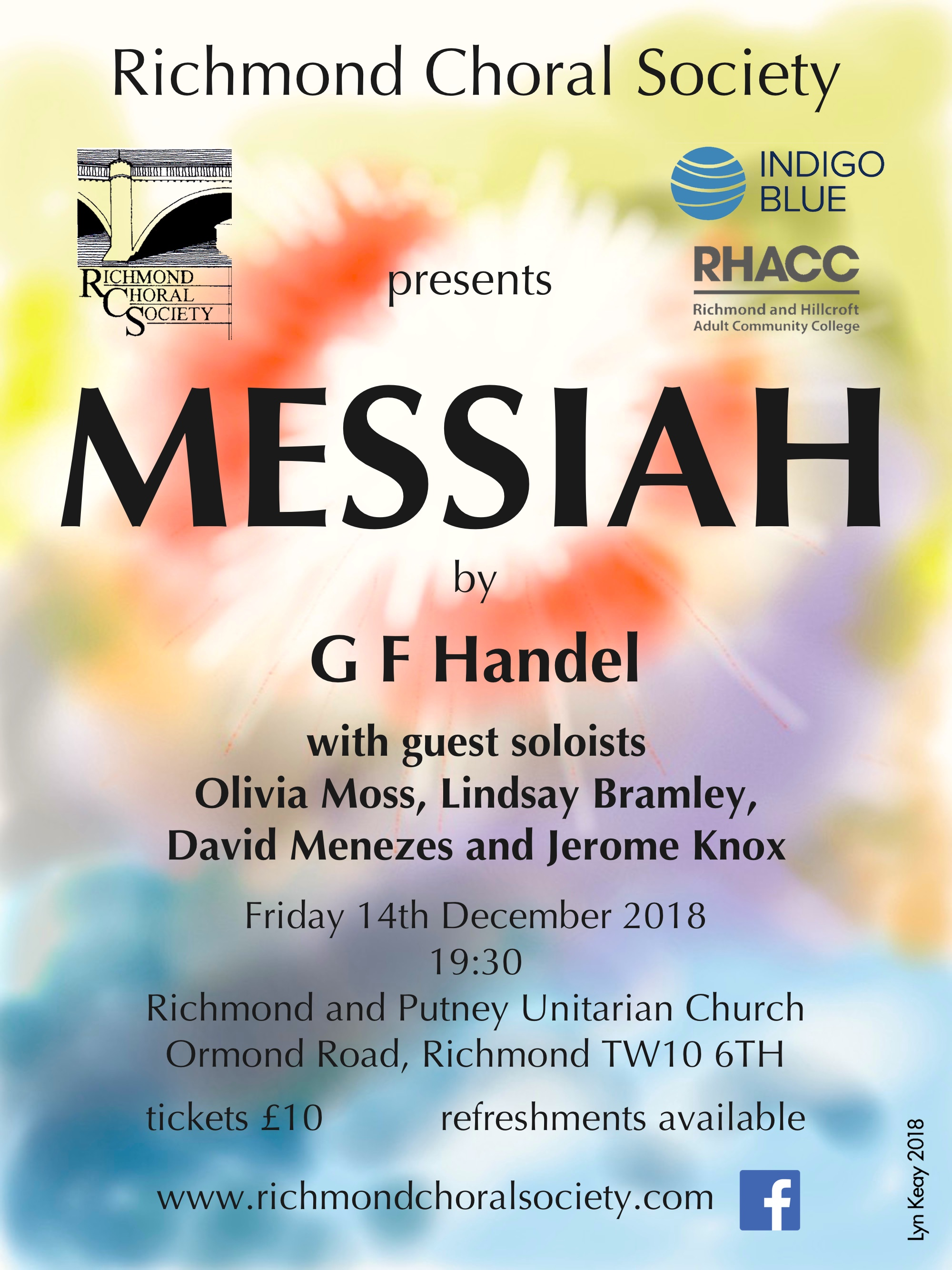 Messiah main flier